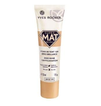 Cómo es la nueva base de maquillaje Super Mat Cero Brillos
