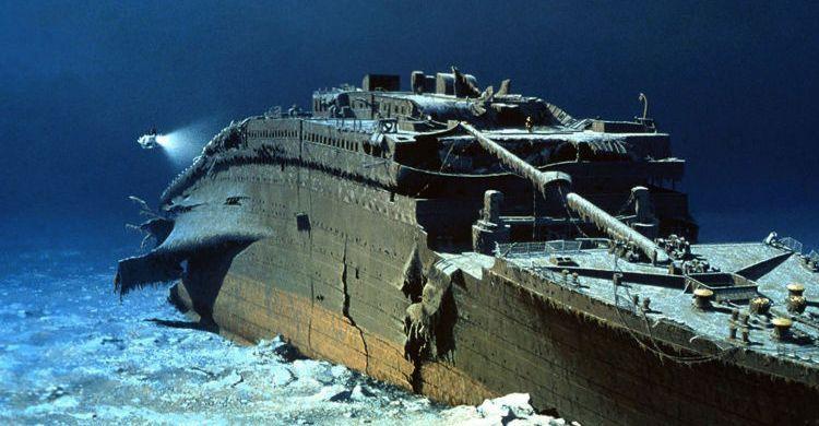 viaje al titanic