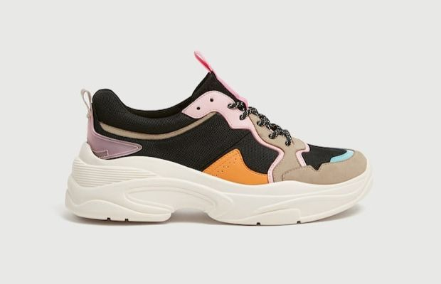 Zapatillas chunky de Pull and Bear Multicolor