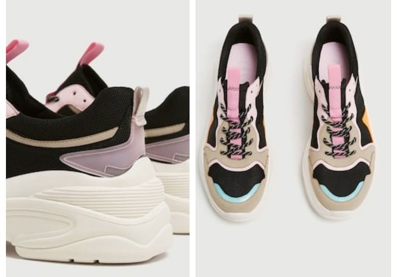 Zapatillas chunky de Pull and Bear | Primavera 2019