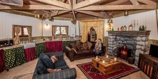 Alojamiento cabaña Hagrid.