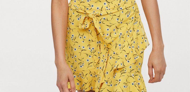 Faldas cortas estampadas de H&M| Primavera 2019