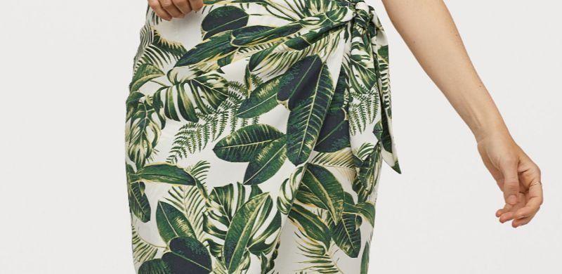 Faldas drapeadas de H&M para el Verano 2019
