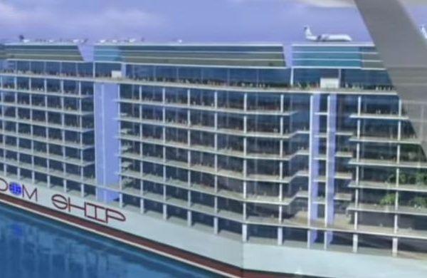 Freedom Ship, el crucero con capacidad para 100 mil pasajeros