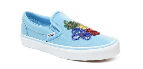 Zapatillas bordado floral Vans Primavera 2019
