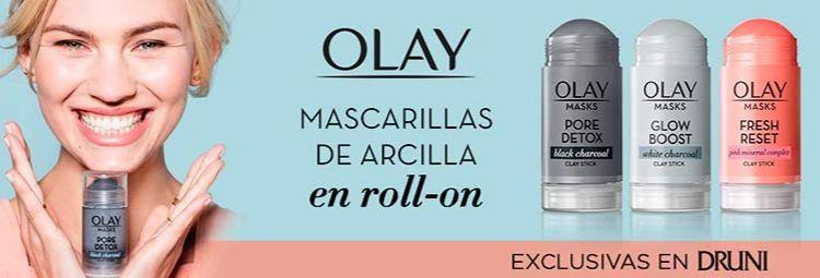 Cómo utilizar las nuevas mascarillas de arcilla en roll-on de Olay