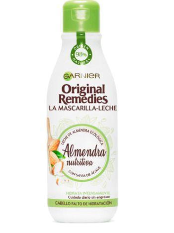 Mascarilla de leche de almendra: nutritición