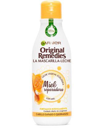 Mascarilla de leche de miel: reparación