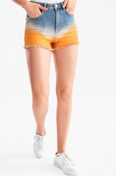 Shorts estilo hippie de C&A