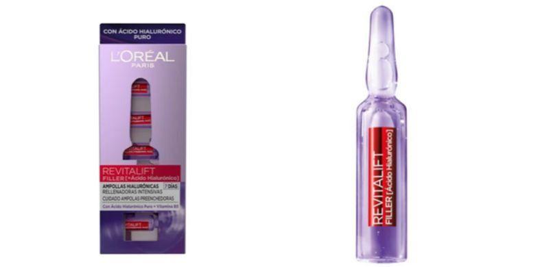 Ampollas Revitalift Filler de L'Oreal: ácido hialurónico puro para la piel