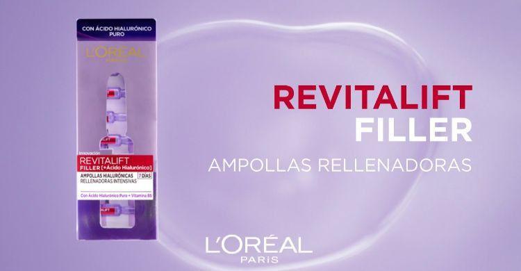 Cómo utilizar las Ampollas Revitalift Filler de L'Oreal