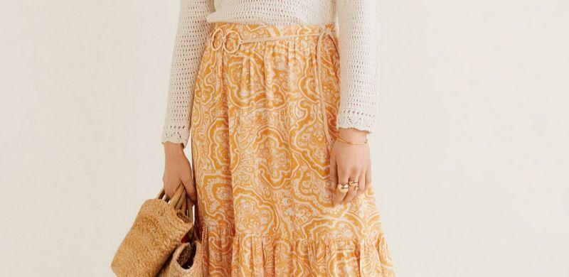 Faldas largas de Mango para el Otoño 2019
