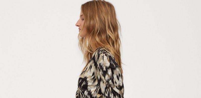 Blusas estampadas de H&M para el Otoño 2019