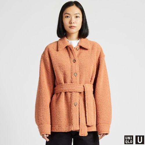 Abrigo corto polar de Uniqlo