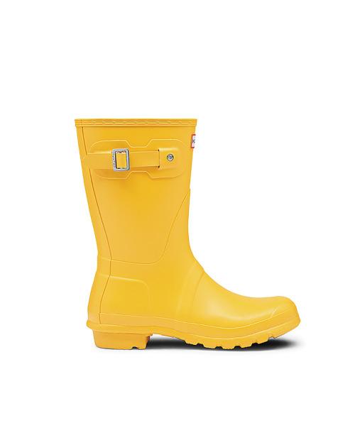 Botas de agua amarillas Hunter de El Corte Inglés