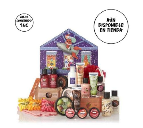 Calendario de Adviento de Belleza de The Body Shop