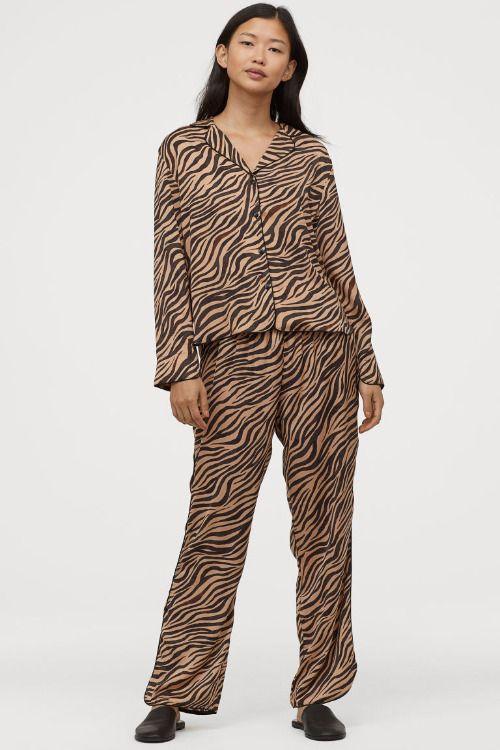 Pijama animal print de HM
