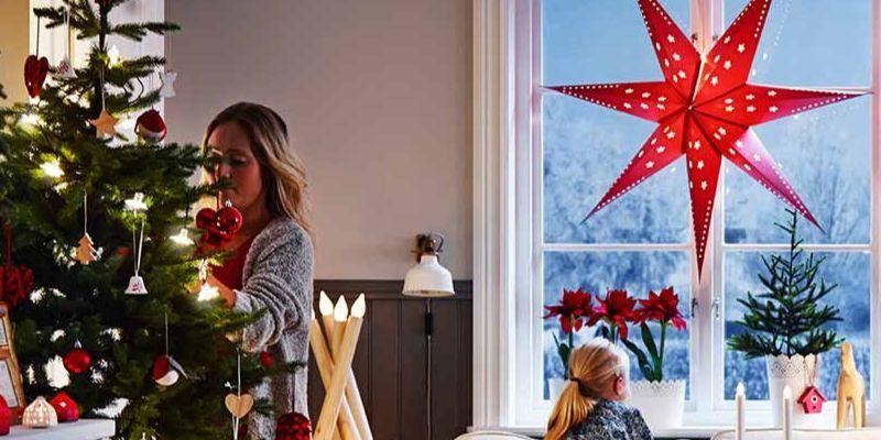 5 adornos de mesa de Navidad de Ikea 2019