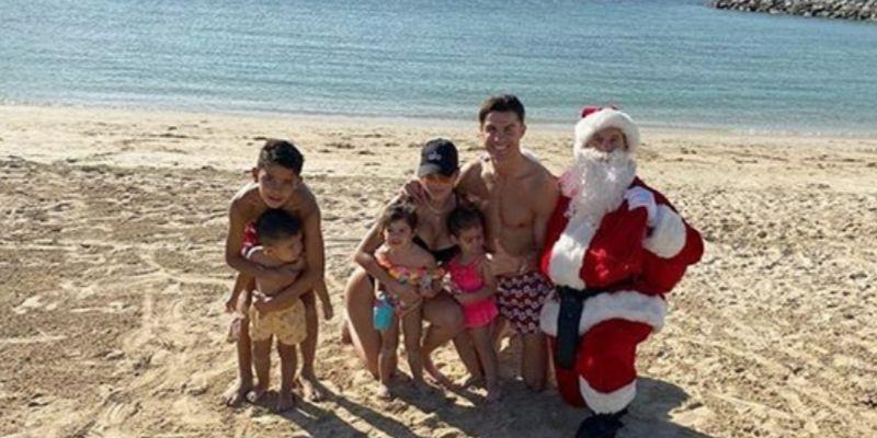 Navidad Cristiano Ronaldo en Dubai
