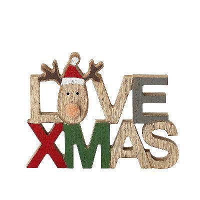 Decoración Love Christmas