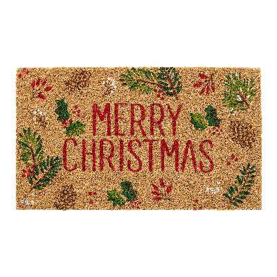 Felpudo navideño Merry Christmas