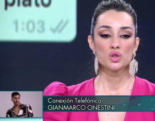 Gianmarco entra por teléfono