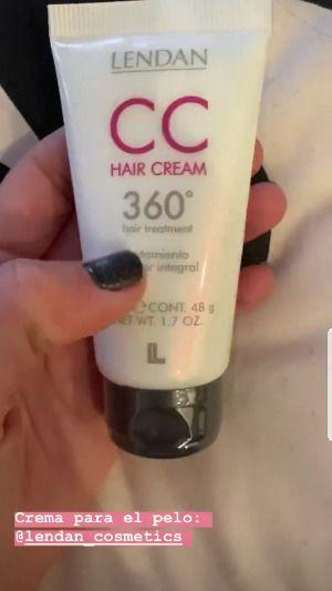 Crema para el pelo