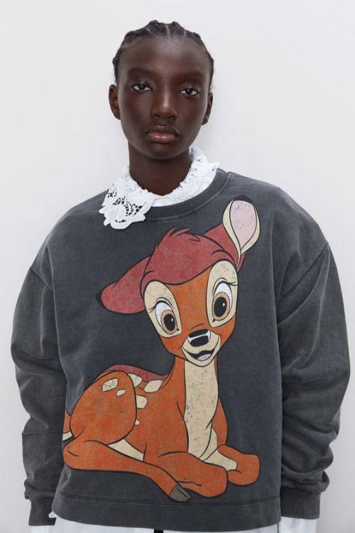 Sudadera de Bambi de Zara