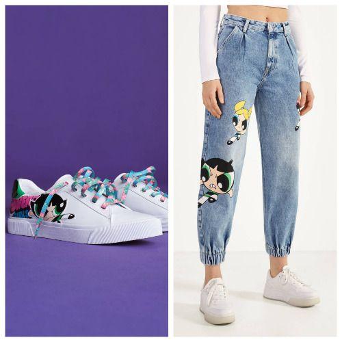 Pantalones y zapatillas Las Supernenas