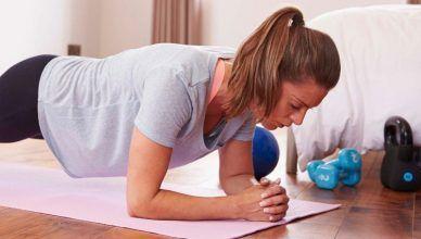 5 consejos para hacer ejercicio en casa sin riesgo de lesiones