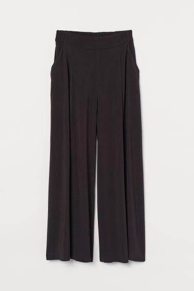 Pantalón amplio negro de H&M
