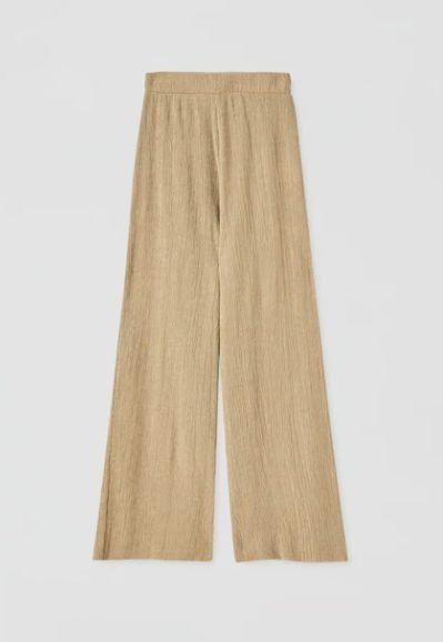 Pantalón culotte de tejido ligero