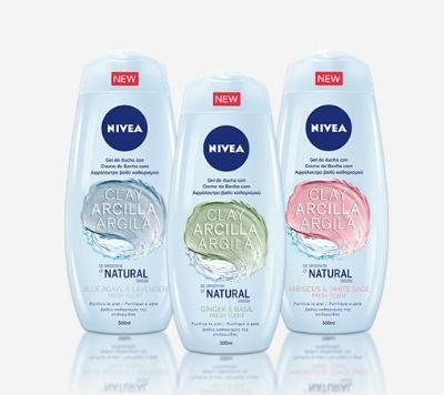 Geles de arcilla natural de Nivea: limpieza y cuidado de la piel