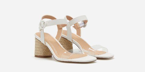 Lefties tiene las sandalias de tacón más bonitas para este verano