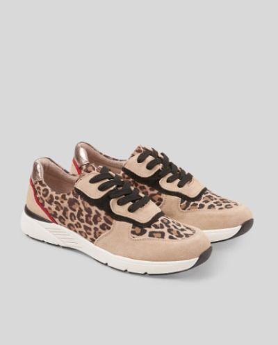 Zapatillas deportivas animal print
