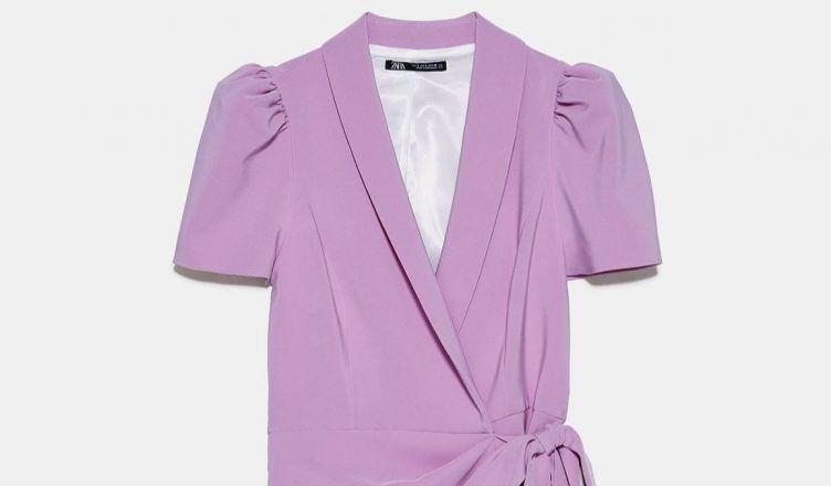 Zara tiene el mono blazer más bonito para un look de invitada
