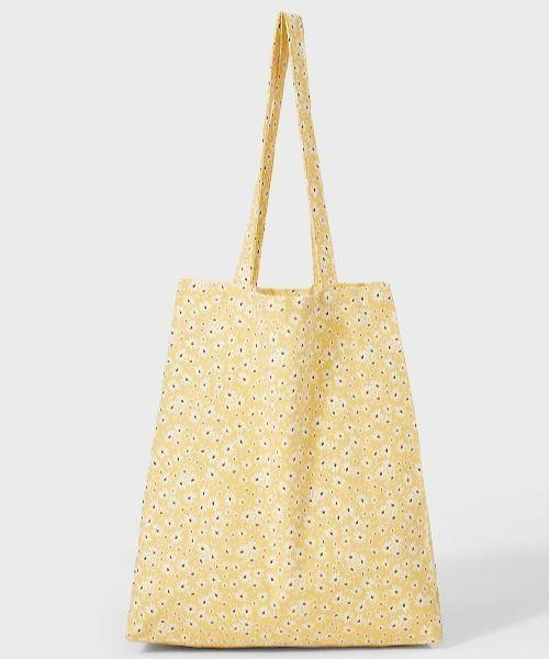 Bolso estilo shopper con estampado de flores