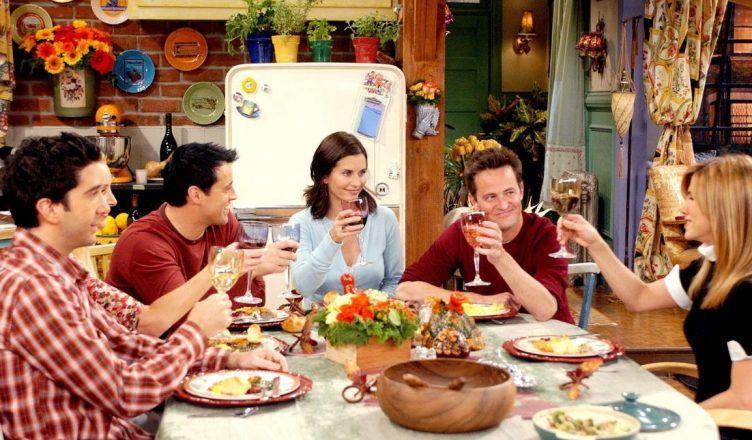 El libro de recetas de Friends para que prepares los platos de la serie