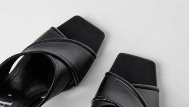 Sandalias de tacón de Zara al 45% de descuento