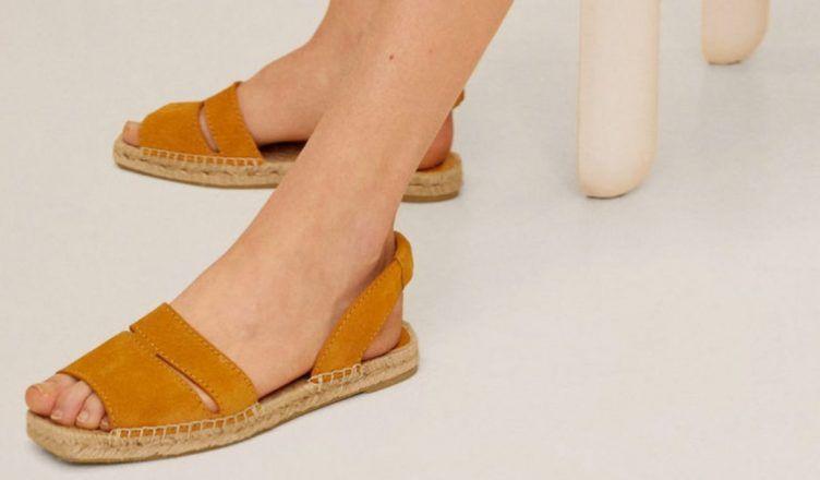 Sandalias planas de Mango para el Verano 2020