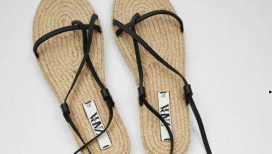 Sandalias planas de Zara para el Verano 2020: cómodas y bonitas