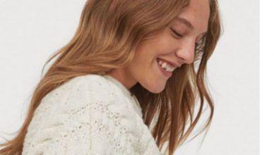 El cárdigan de punto trenzado de H&M más estiloso para el otoño