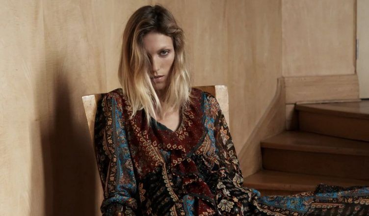El vestido con estampado de patchwork de Zara más estiloso para el otoño