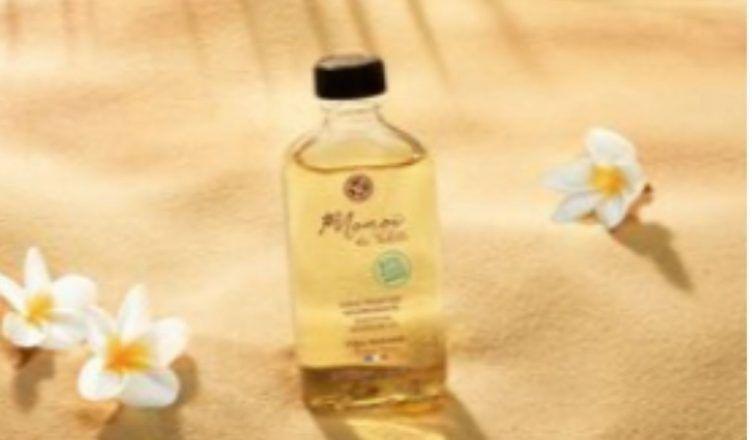 Aceite Monohí de Tahití de Yves Rocher, hidratación para la piel y el cabello
