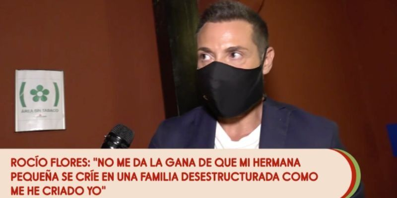 Antonio David Flores explota en Sálvame