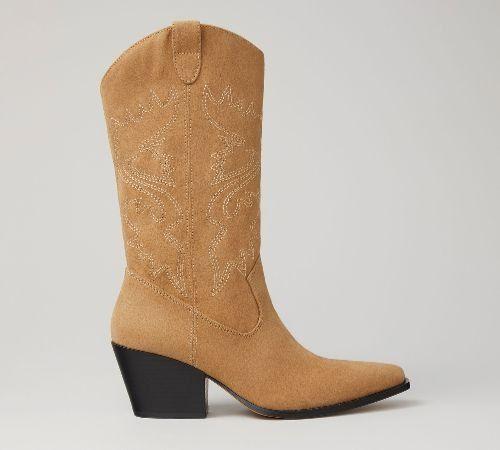 Botines de tacón de Lefties - Cowboy