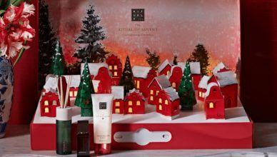 Calendarios de Adviento de Rituals 2020: un precioso pueblo navideño