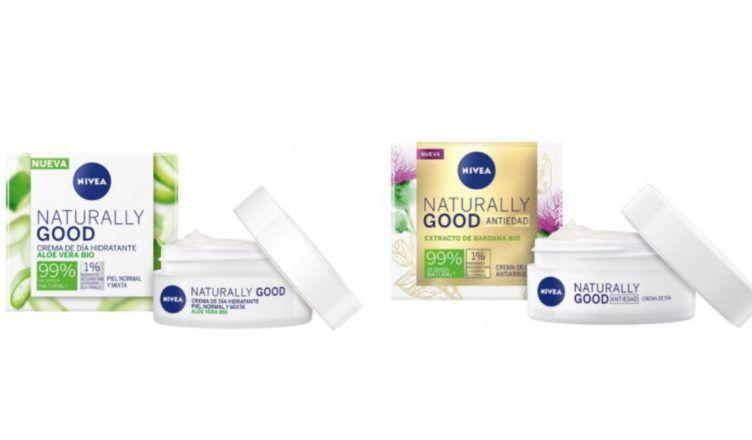 Descubre las nuevas cremas Nivea Naturally Good: 99% de ingredientes de origen natural