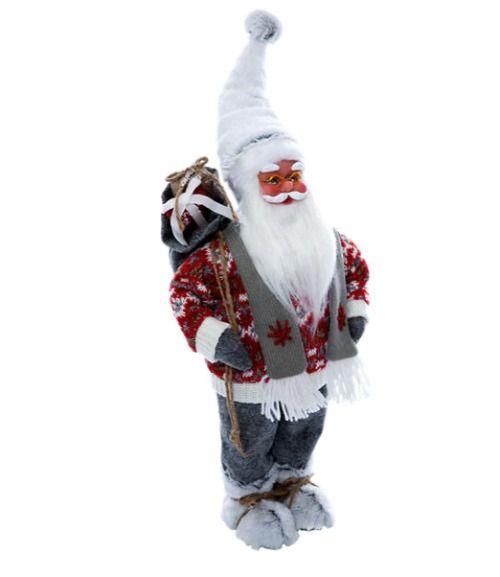 Figura navideña de Santa Claus
