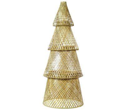 Árbol de Navidad de bambú